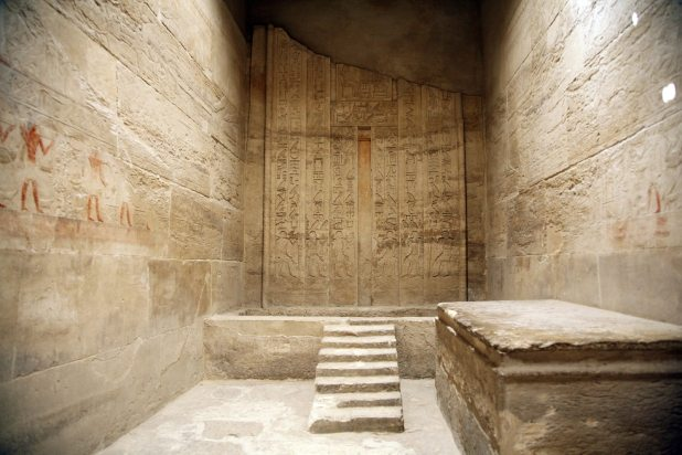 ancient egyptian room