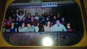 Tripps Travel Network visiting Tower of terror in Disneyland