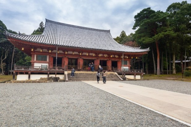 Ancient shrine in Kyoto