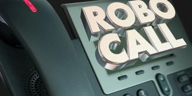 robocall Telephone Marketing Spam Junk Phone Calling 3d Illustration