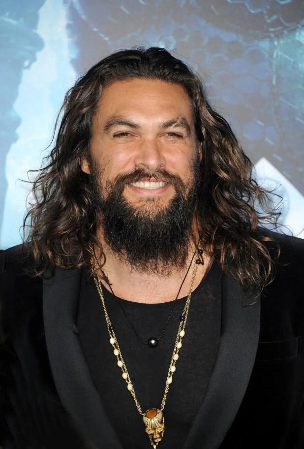 'Aquaman' Jason Momoa shaves beard for Green Effect (3)