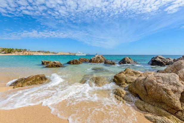 Playa El Chileno Beach, Cabo San Lucas, Mexico.