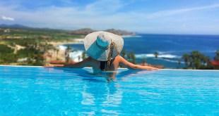 pool at Hacienda Encantada