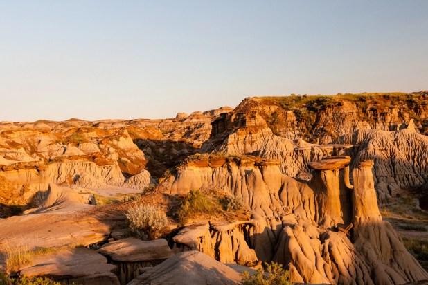 Dinosaur Provincial Park a UNESCO