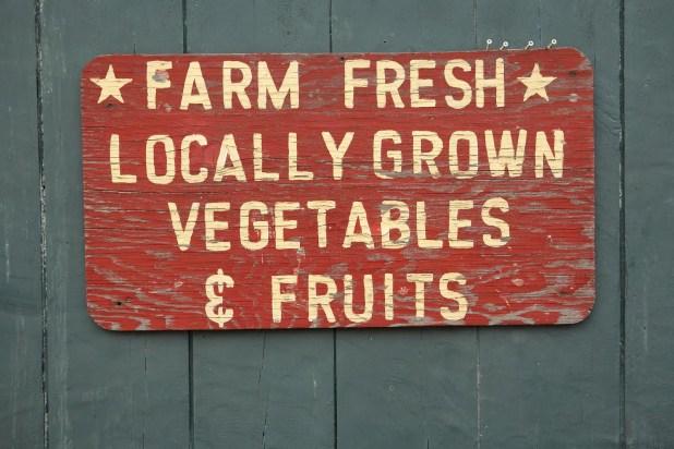 FARM FRESH vegtables and fruits