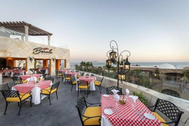 dinner options at Hacienda Encantada resort