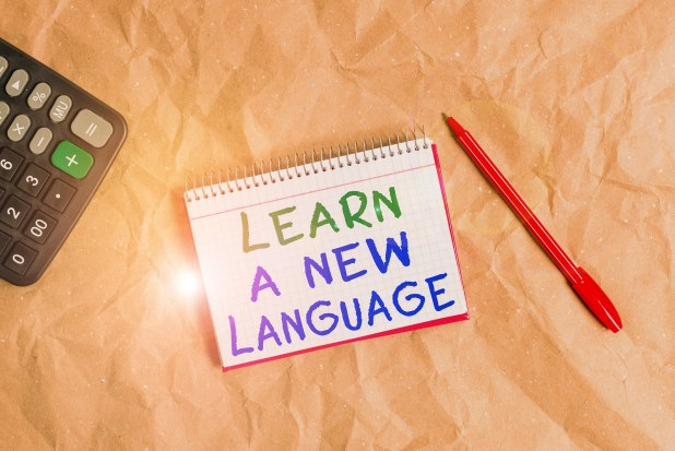 Learn a new language during self isolation, stay at homer