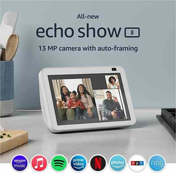 Top fathers day gift ideas for 2021 Amazon Echo show 8