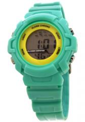 FMD by Fossil Ladies Standard 3 Hand Analog Plastic Watch Miami Green