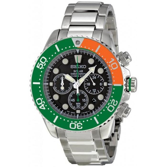 Seiko Solar Chronograph Diver's 200M Watch SSC237P1