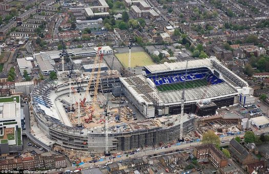 Mind-Blowing Pictures: Tottenham Release New Photos Of The ...