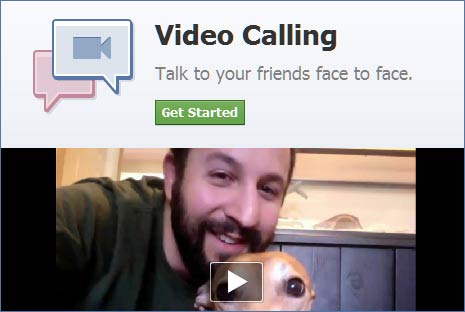 Activate Facebook Video Calling
