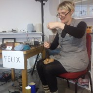 Felix and her sonic spindle