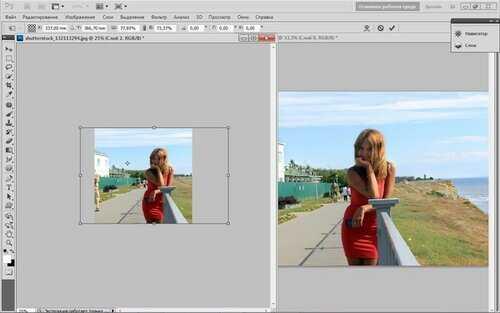 Как в фотошопе из двух фотографий сделать одну – Как ...