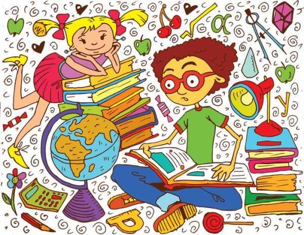 Картинка для детей учеба – Картинки школы и класса