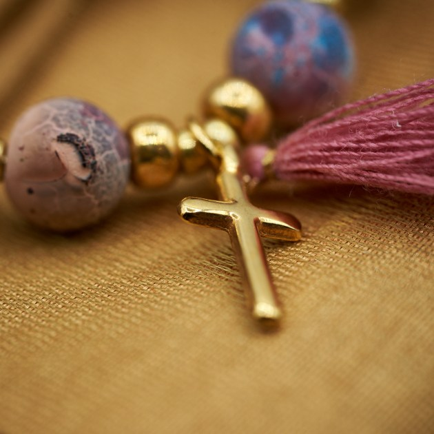 Set mit christlichen Symbolen -Modell Susanna