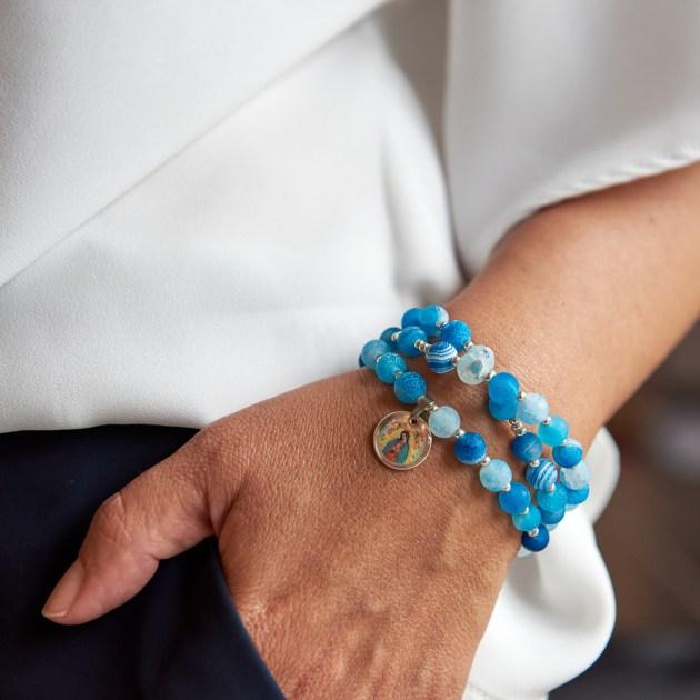 Rosenkranz-Armband Modell Clara