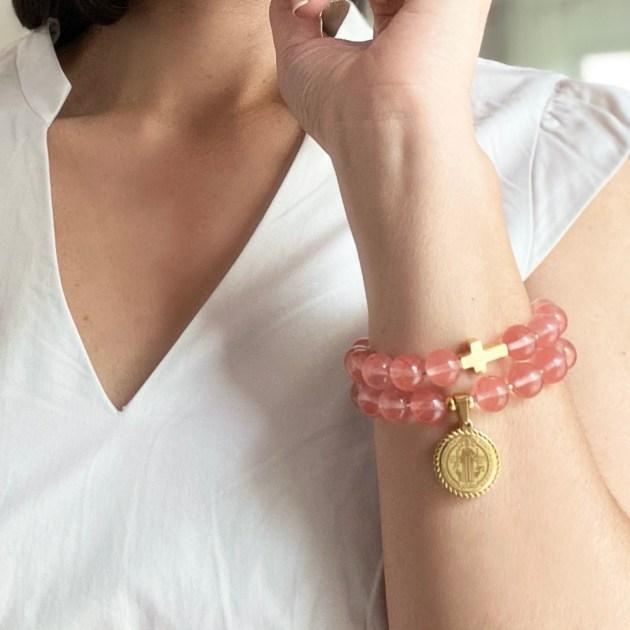Armband mit Kreuz Lydia