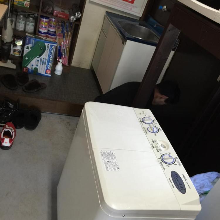 洗濯機やら湯沸し器やら事務所の換気扇やら