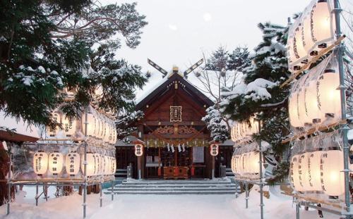 パワースポット 北海道 神社