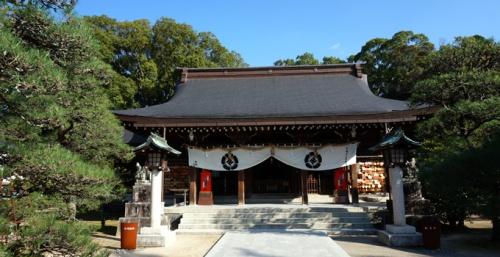 パワースポット 山口 神社