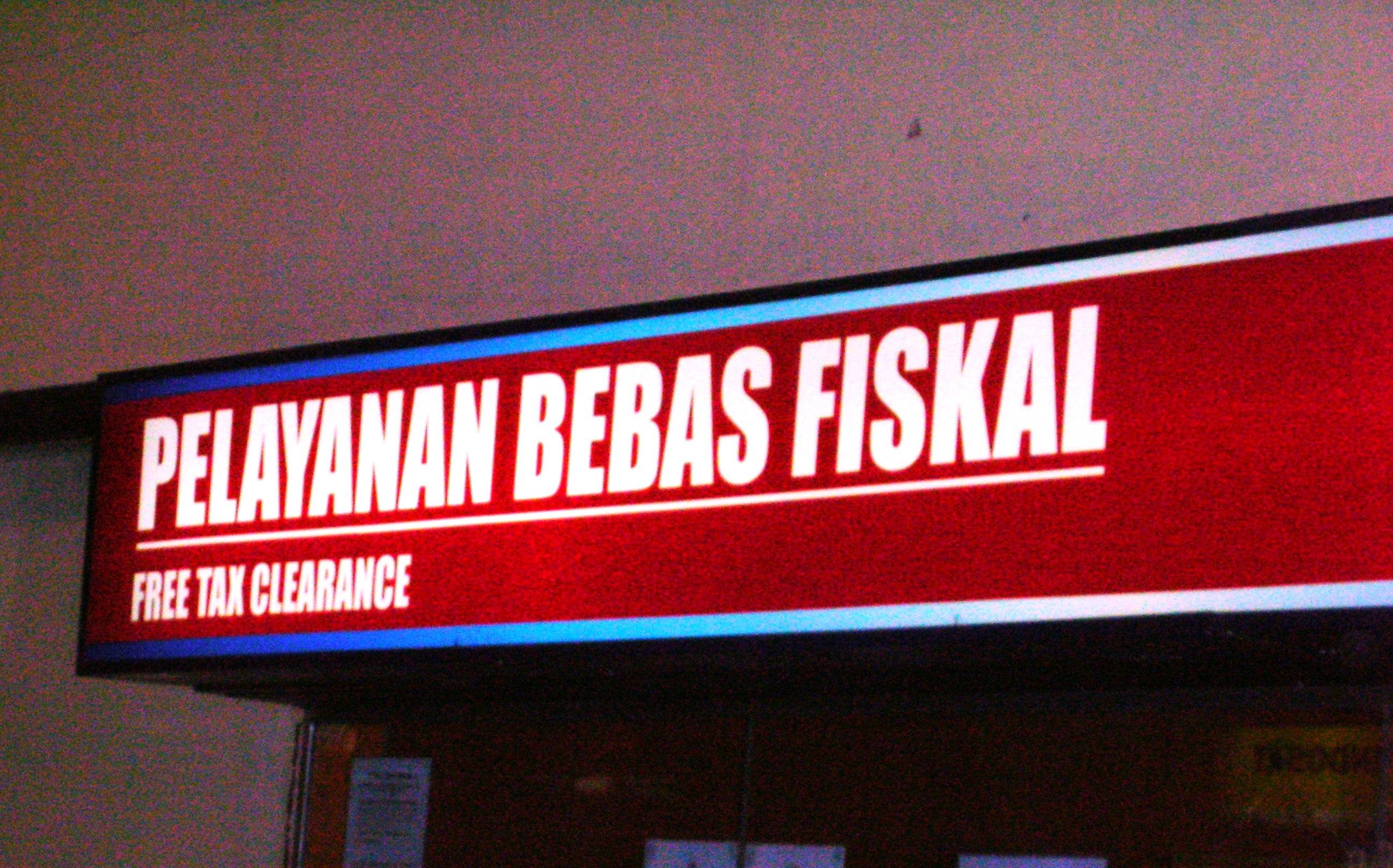 Signage Bebas Fiskal