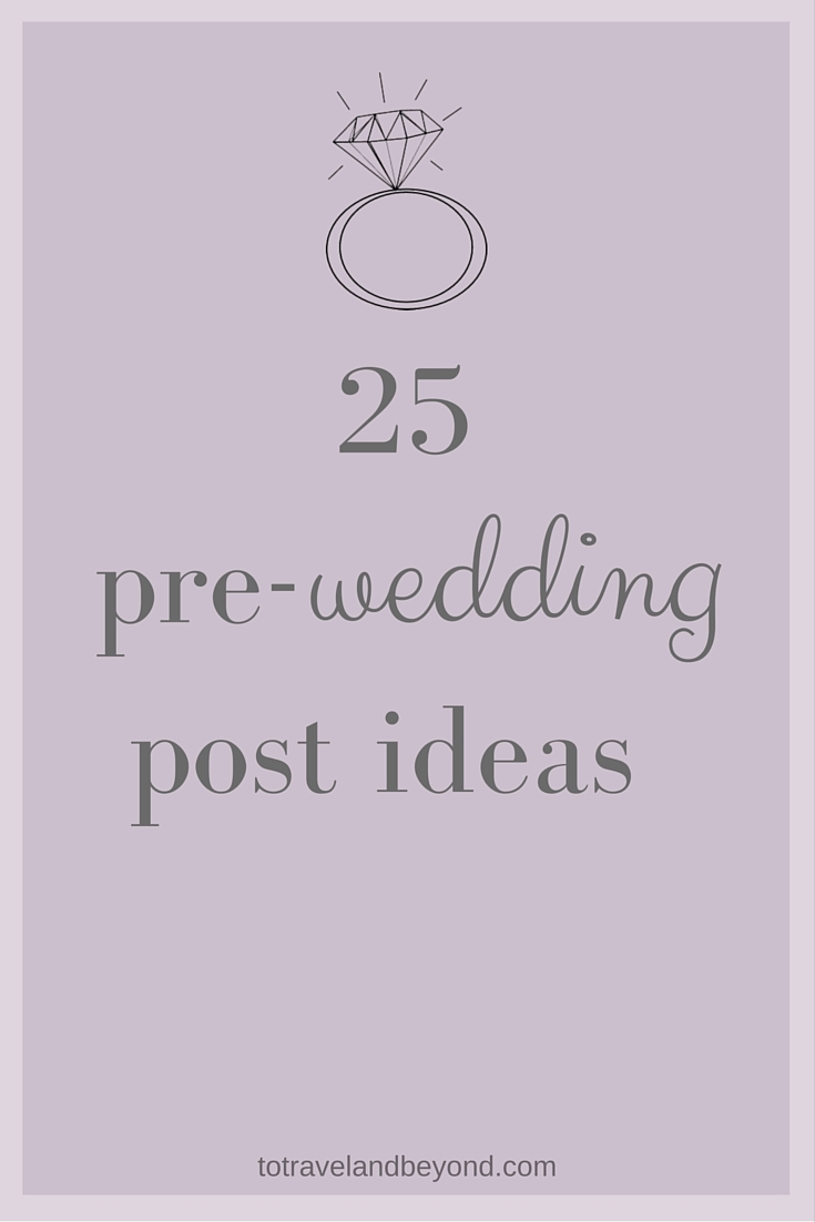 Wedding Post Ideas