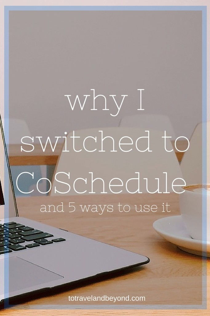 Switched To CoSchedule