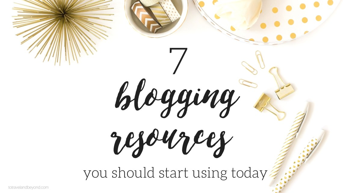 blog resources