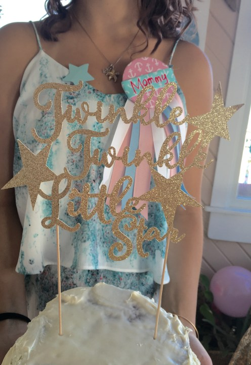 twinkle twinkle little star gender reveal it's a boy