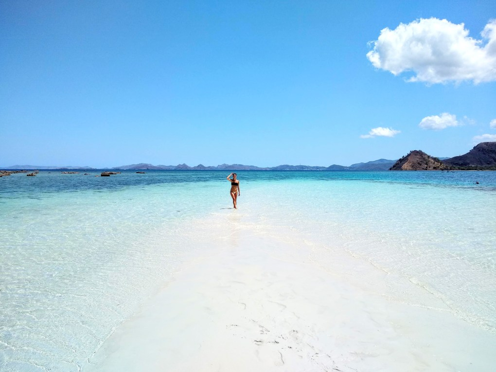 Paradise found at Kelor Island of Komodo National Park in Labuan Bajo, Flores, Indonesia