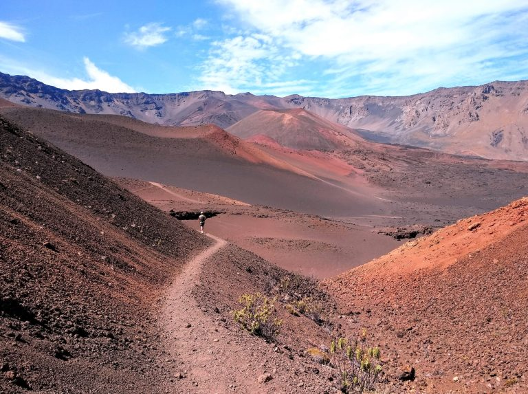 Haleakala Colorful Hiking scaled - Traveling to Maui during COVID may not be what you expect!