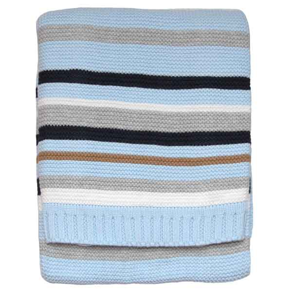 organic cotton knitted cellular baby blankets