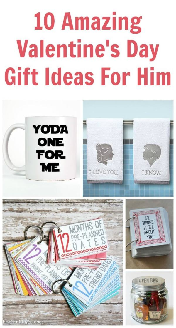 10 Amazing Valentine's Day Gift Ideas for Him | TOTS ...