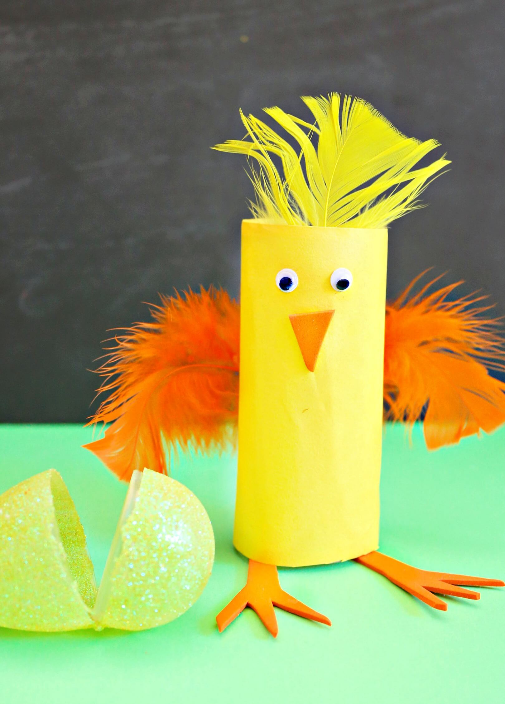 Easy Easter Craft Using Recycled Materials For All Kids Ages
