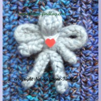 Tiny Spool Knitted Angel