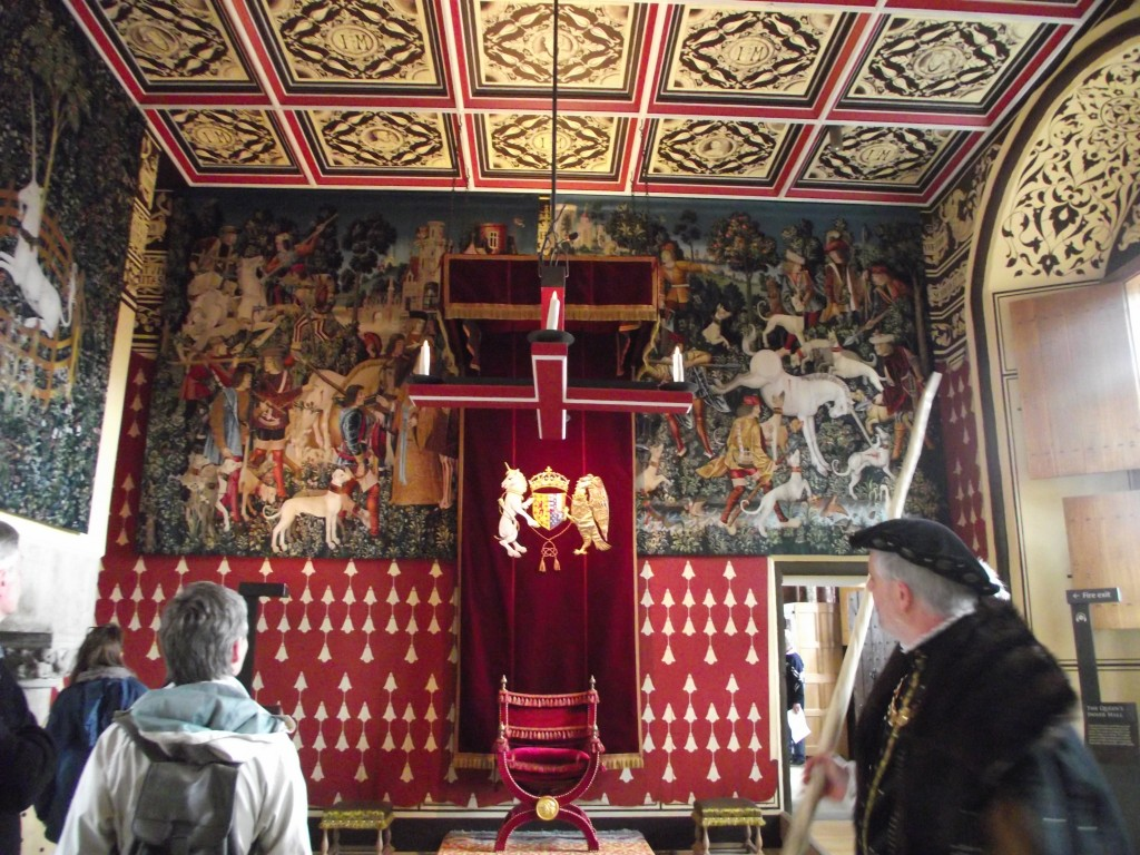 The Stirling Palace Tapestries – medieval tapestries re-created specially for the Palace