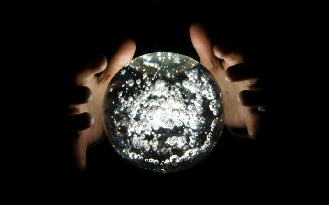 THE VICAR'S CRYSTAL BALL