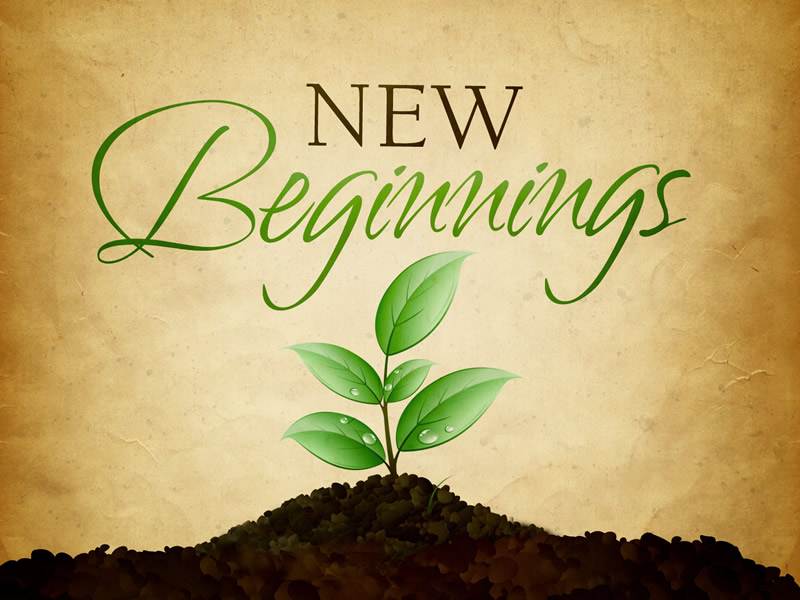 View from the Vicarage – New Beginnings