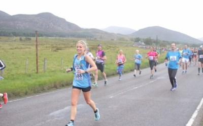 Sarah Runs Loch Ness Marathon for Charity