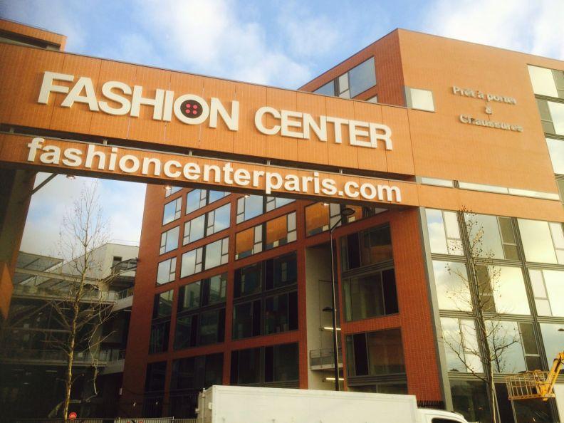Fashion center Paris