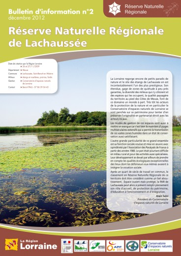 CEN Lorraine Bulletin Lachaussée
