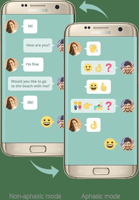 تطبيق جديد للدردشة لمن يعانون من اضطرابات اللغة من سامسونج