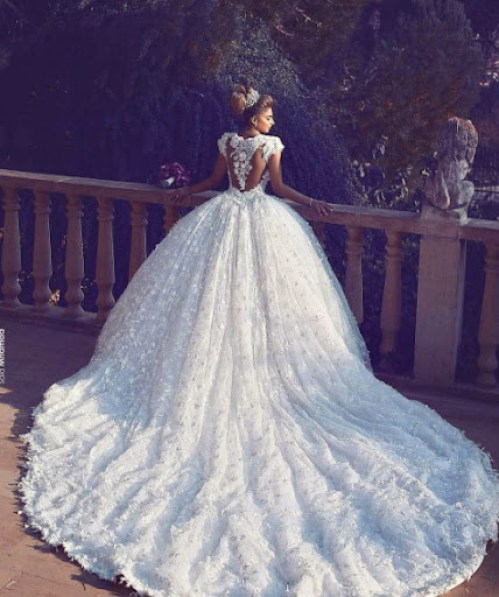 A jaw-droppingly beautiful silhouette combined with exquisite details, this  wedding dress from Walid Shehab Haute Couture is fit for a queen! » Praise  Wedding Community