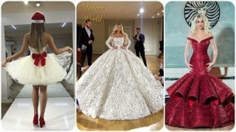 Most Beautiful Dresses in the world #4 👗 Evening Elegant dresses! Princess  dresses! Wedding dresses - YouTube