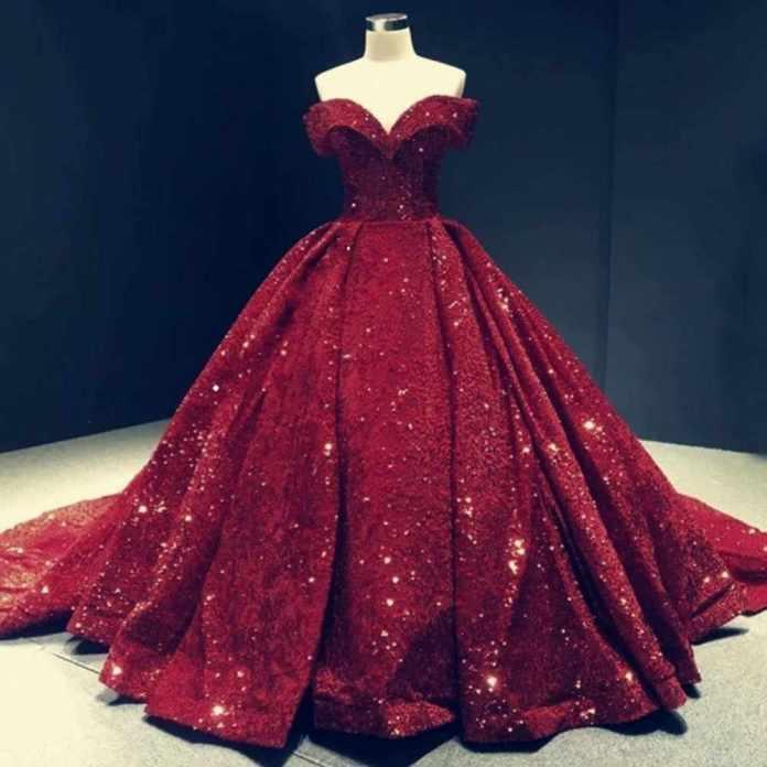 Prom Evening Dresses 2020 Woman Party Night Celebrity Long Burgundy Ball  Gown Elegant Plus Size Arabic Formal Dress|Prom Dresses| - AliExpress