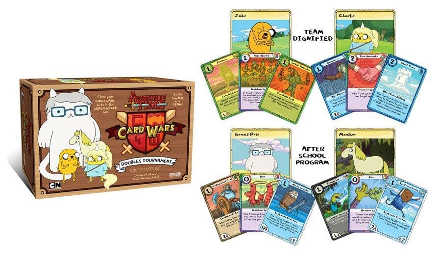 Debit cards link to bank accounts. 'Card Wars Kingdom' Based on New 'Adventure Time' Episode ...