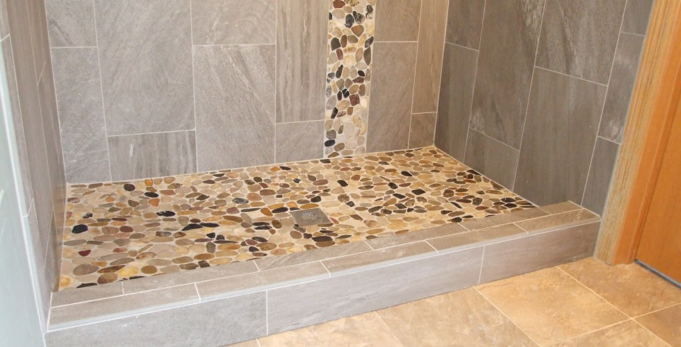 Tile shower installation Chanhassen, MN « TOUCHDOWN TILE