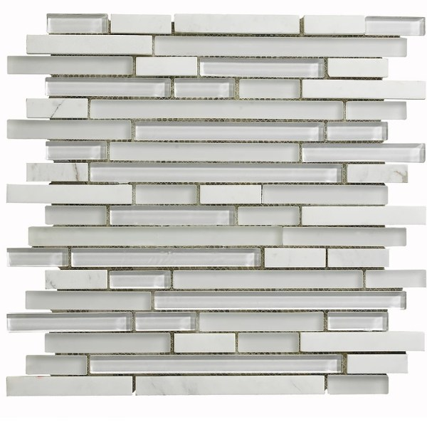 Synergy glass and stone mosaic tile mix DC0021
