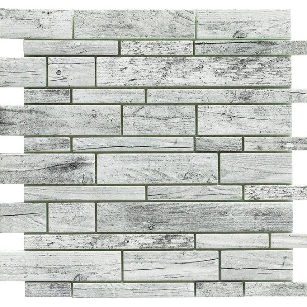 Synergy glass wood look mosaic DC0027-A